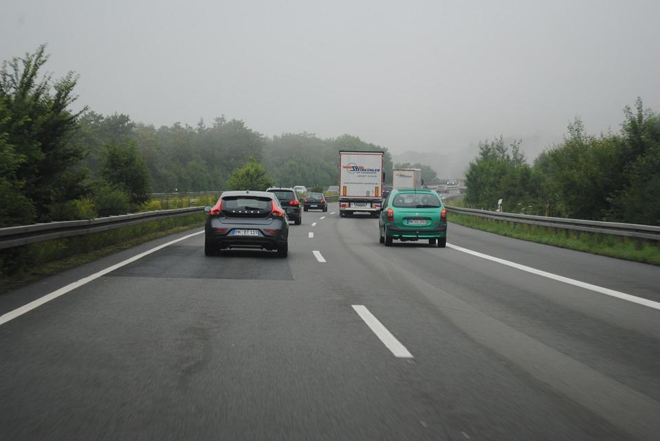 řízení na dálnici