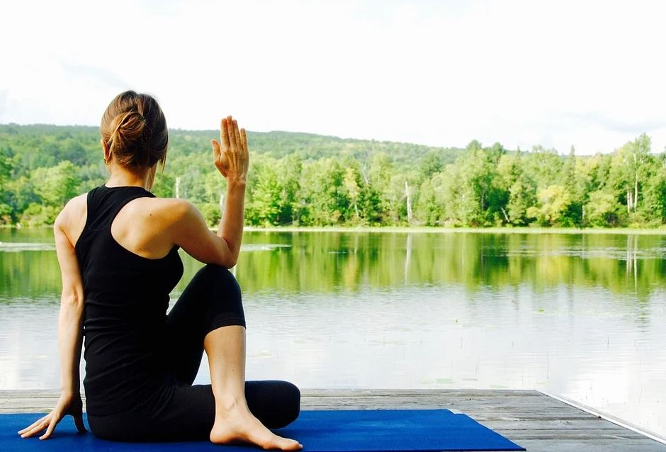 cvičení jógy