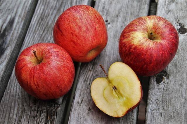 Strouhané jablko: jednoduchý  prostředek proti průjmu